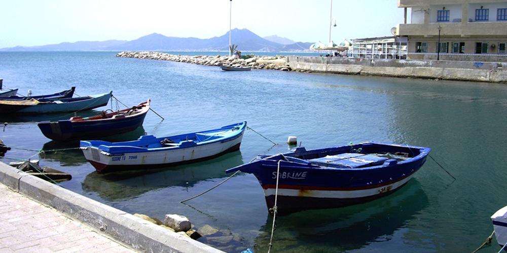 Canal entre La Goulette et le Lac de Tunis